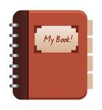 Vector phone book icon