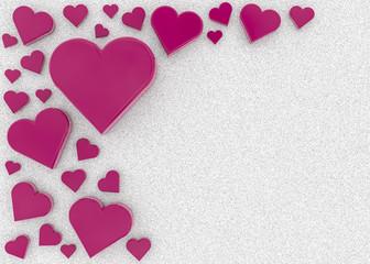 hearts and sugar
