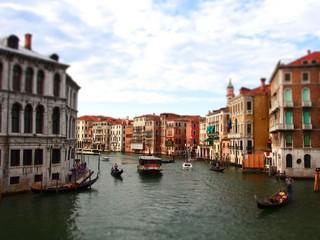 イタリア 水の都 ベネチア ジオラマ風