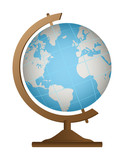school globe geography icon