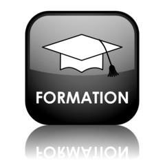 """Bouton """"FORMATION"""" (continue professionnelle éducation diplômes)"""