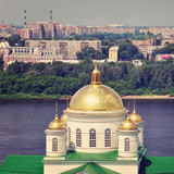 Russian Church in Summer, Nizhny Novgorod