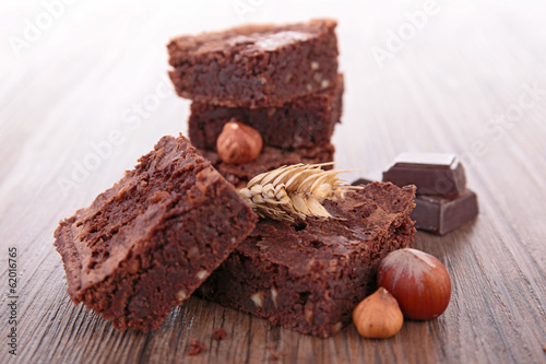 brownies and nuts