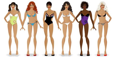 set of girls in bikinis1