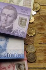 Arturo Prat y Manuel Rodríguez Erdoíza Peso Chile