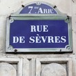 Paris, France - Sevres street