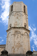 Octagonal tower of Saint Michael Archangel Sanctuary