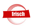 canvas print picture - frisch