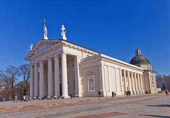 St. Stanislov Cathedral (1801). Vilnius, Lithuania