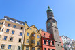 The Stadtturm and Cityscape of Innsbruck in Austria