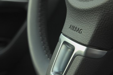 Air bag in modern car