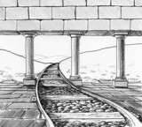 The railway into the story