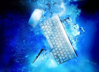 sinking desktop