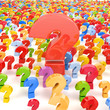 Question marks - Faq concept