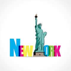 New York-La Liberté