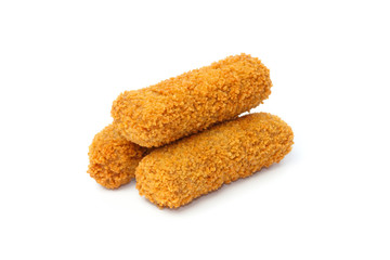 Three Dutch croquettes