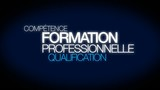 Formation professionnelle qualification tag cloud animation