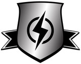 shield with lightning - power symbol