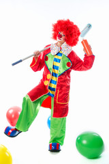 Clown als Maler