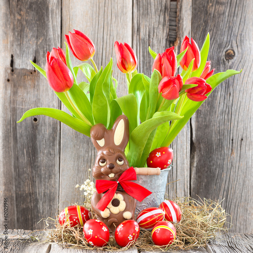 canvas print picture Frohe Ostern!