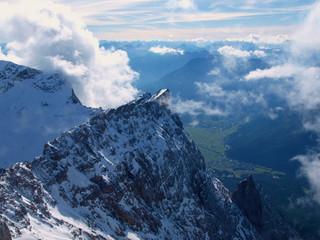 Zugspitze, Gipfelblick
