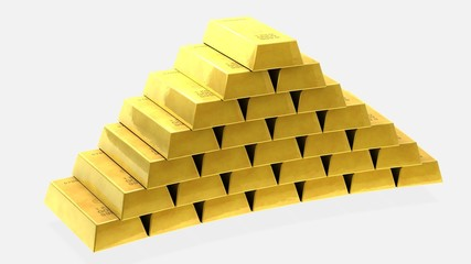 Piramit Külçe Altın