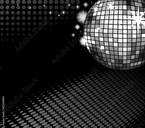 disco ball backround