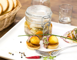 pickled herring