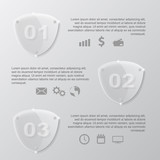 glass shields infographic