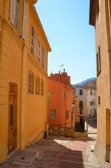 Ville de Menton, ruelle pittoresque