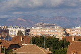 Sagunto Castle from the Port. Valencia, Spain