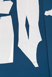 paper samples of apparel on fabric for cutting poster