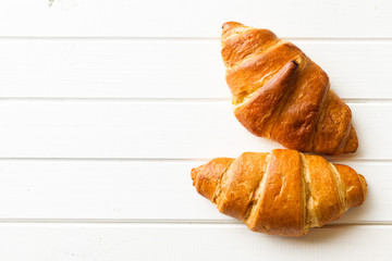 two croissants