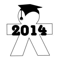 Monigote graduación 2014