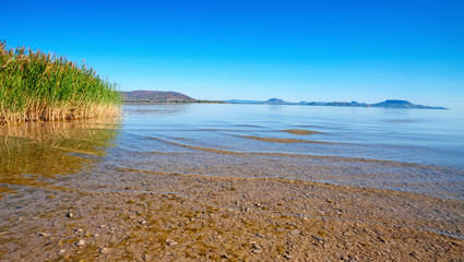 Landscape at Lake Balaton,Hungary