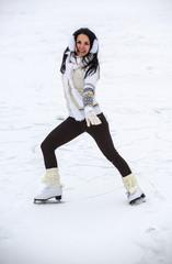 girl on skates