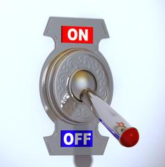 Interruptor apagado