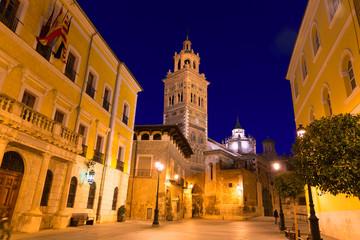 Aragon Teruel Cathedral Santa Maria unesco and City hall