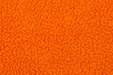 Orange cotton fleece texture
