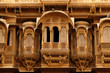 canvas print picture - Example of richly decorated Indian architecture