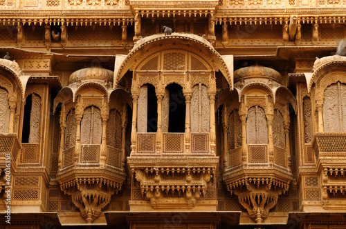 canvas print picture Example of richly decorated Indian architecture