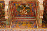 India, Decoration on the Haveli wall