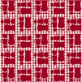 cups, tea cups and teaspoons seamless repeat pattern