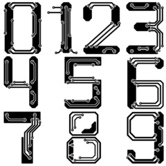 Stylish pcb electric wires numbers