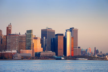 Downtown Manhattan SUNSET, NEW YORK CITY