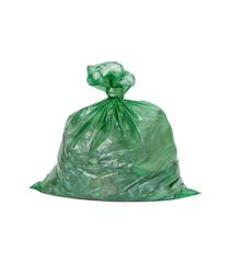 Müllsack aus Plastik
