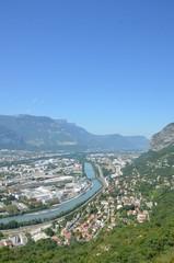 Vue de Grenoble, Isère