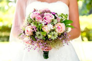Brautstrauß, Braut