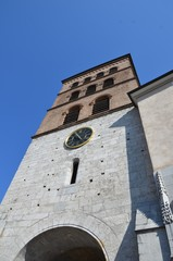 Cathédrale Notre Dame de Grenoble , clocher