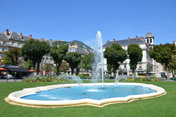 Bassin, fontaine, Grenoble